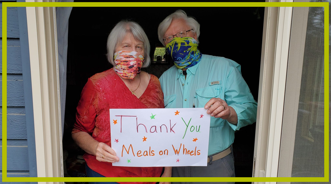 Meals on Wheels People Overwhelmed with Gratitude